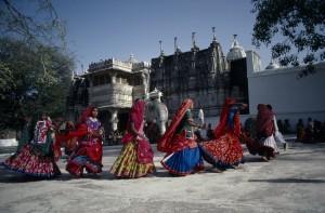 Tribal women.  Sadri, Rajasthan